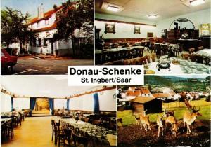 Postkarte Gasthaus Donauschenke